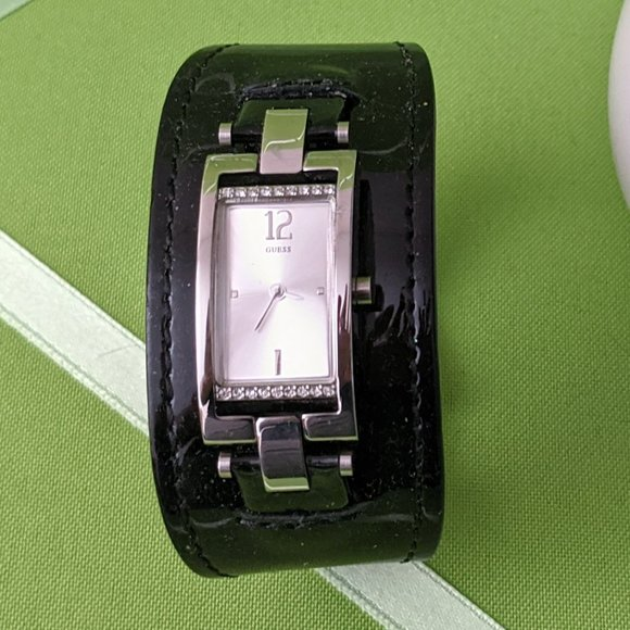 Guess Buckle Watch with Cowhide Bracelet